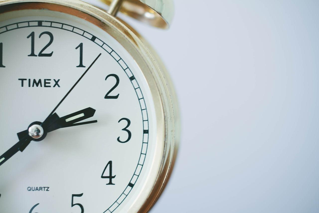 受付時間の変更について